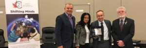 LESTER B. PEARSON SCHOOL BOARD PRESENTED WITH C21 CANADA'S SHIFTING MINDS LEARNING AND INNOVATION SYSTEM AWARD